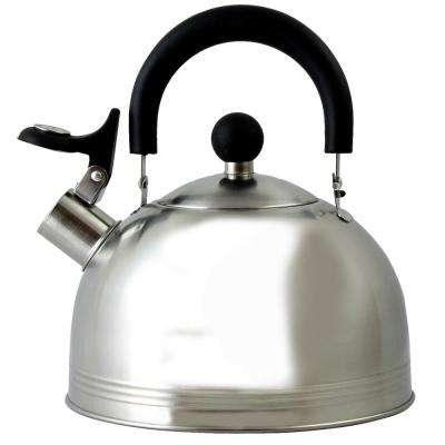 Carterton 6-Cup Stainless Steel Whistling Tea Kettle