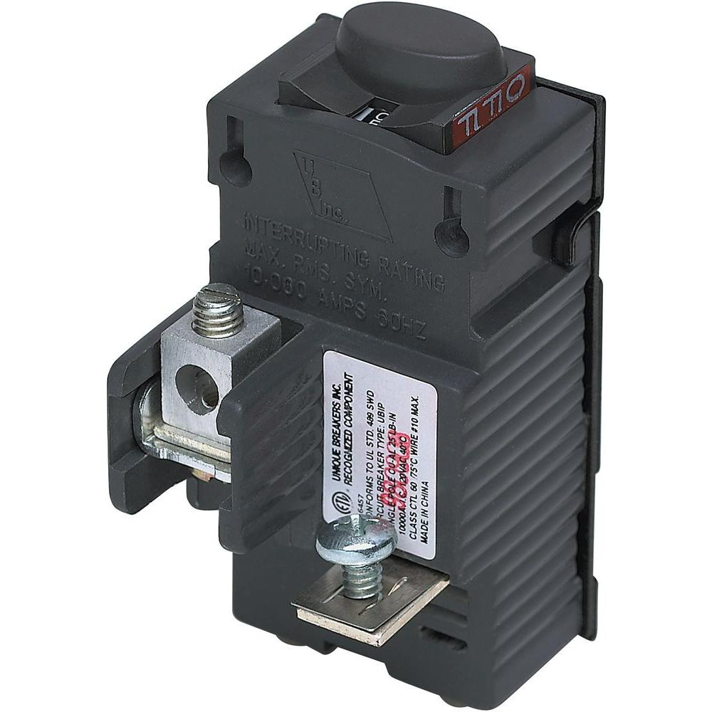 Federal Pacific New UBIF Thick 20 Amp 2 in. 2-Pole Federal Pacific ...