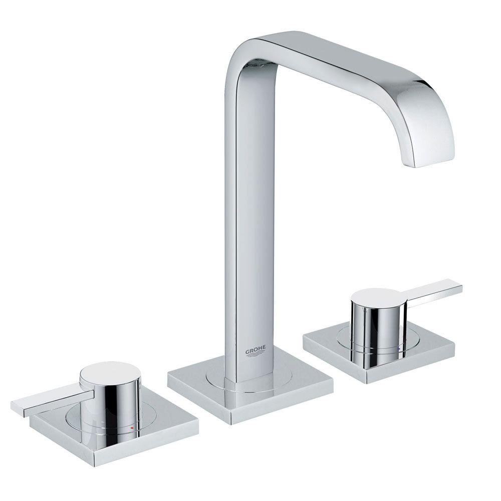Allure 8 in. Widespread 2-Handle Bathroom Faucet in StarLight Chrome