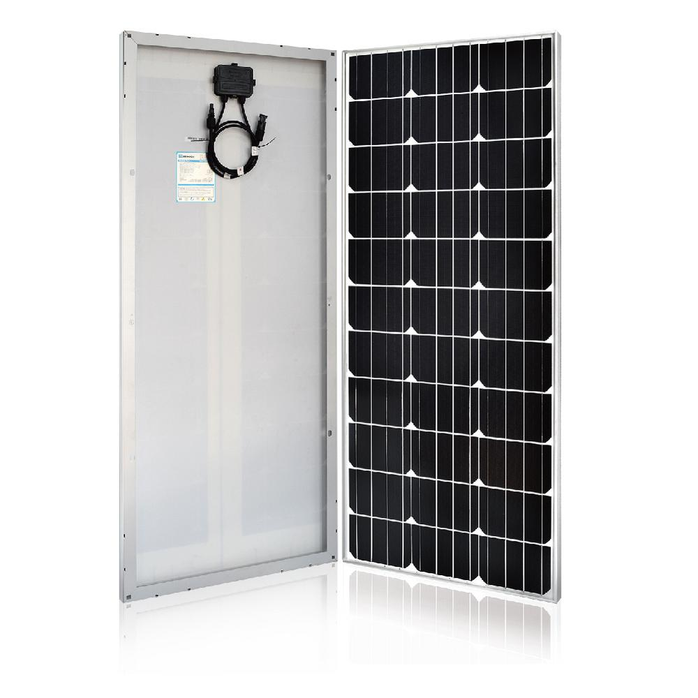 100-Watt 12-Volt Monocrystalline Solar Panel Slim Design