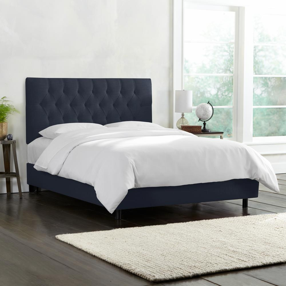 Great Tufted Bed Frame Decor