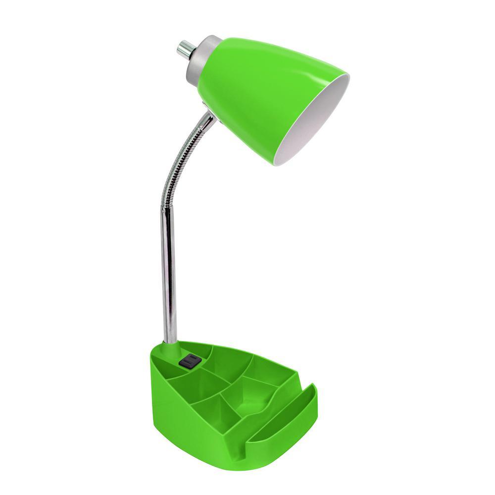 18.5 In. Gooseneck Organizer Desk Lamp ...