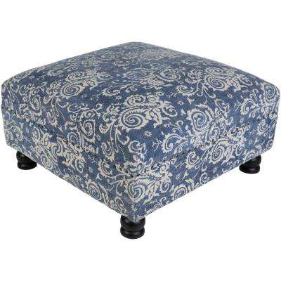 Queut Denim Ottoman
