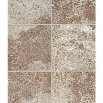 Villa Bronze 12 in. x 36.61 in. x 0.15 in. Grout Line Luxury Vinyl Tile (15.26 sq. ft. / case)