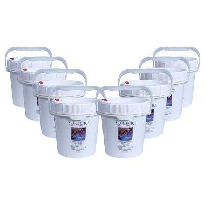 Spa and Hot Tub 5 lb. Sanitizing Granules (8-Pack)