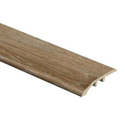 Woodacres Oak 1/3 in. Thick x 1-13/16 in. Wide x 72 in. Length Vinyl Multi-Purpose Reducer Molding