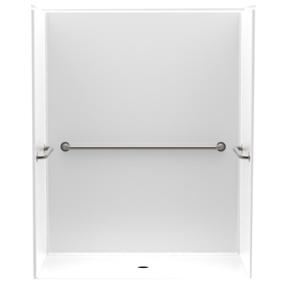 Accessible Smooth Wall AcrylX 60 in. x 34 in. x 75