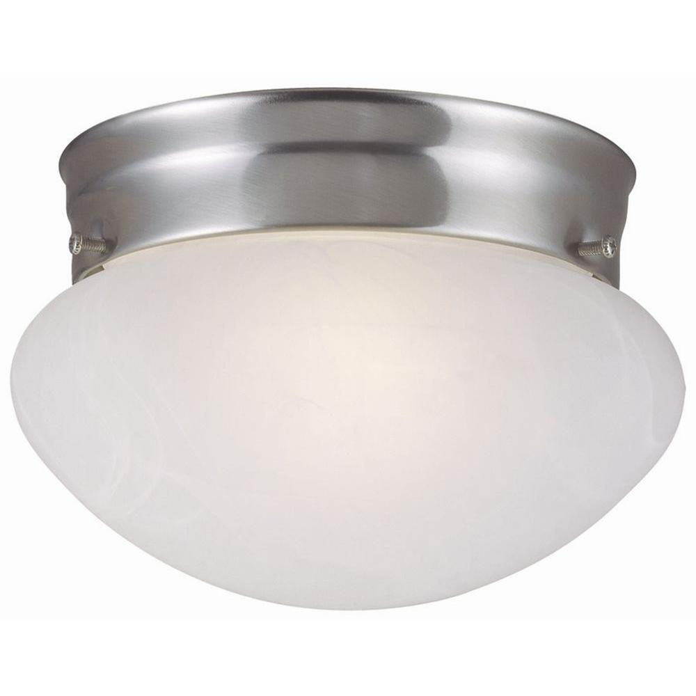 Design House Millbridge 2-Light Satin Nickel Ceiling Light