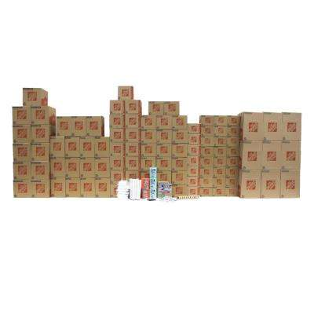 101-Box 4 Bedroom Moving Box Kit