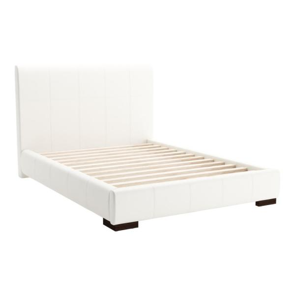 ZUO Amelie White Full Bed