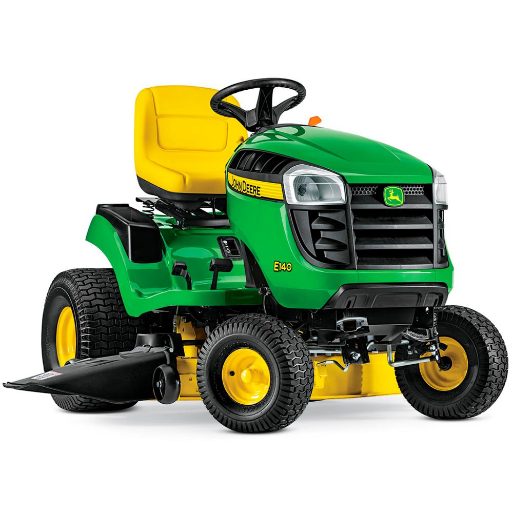 John Deere E140 48 in  22 HP V-Twin Gas Hydrostatic Lawn Tractor-California  Compliant