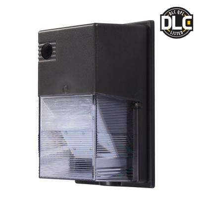 Dark Bronze Outdoor Integrated LED Wall Pack Light