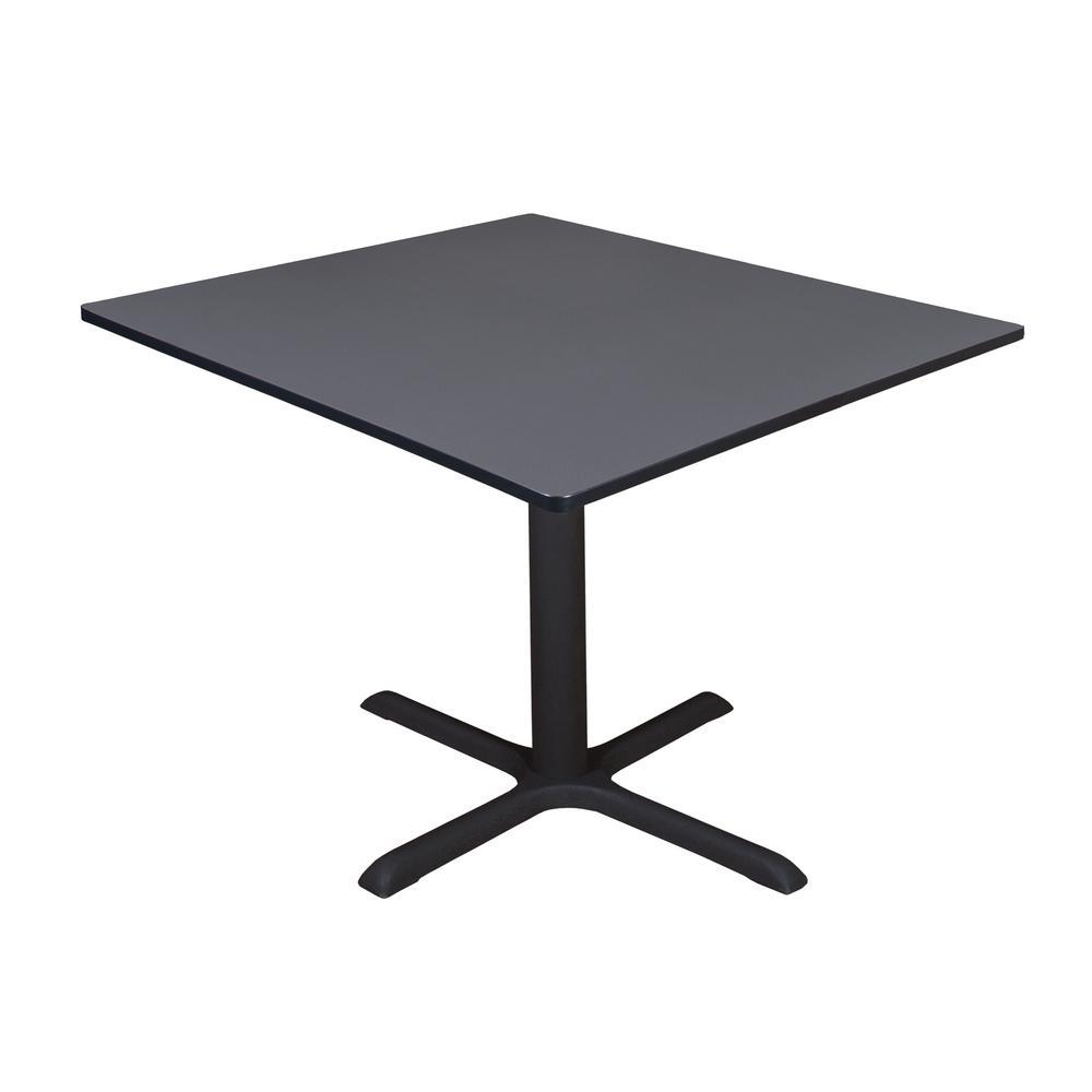 Cain Grey Square 48 in. Breakroom Table