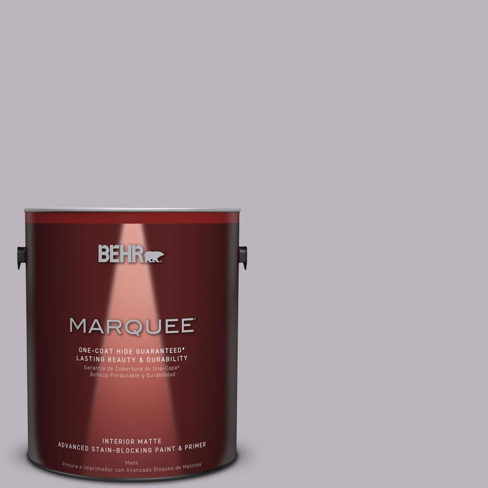 1 gal. #N100-3 Future Vision One-Coat Hide Matte Interior Paint