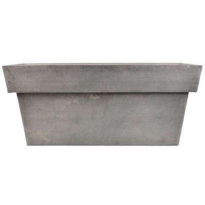 Stark 32 in. x 13 in. x 14 in. Dark Charcoal PSW Window Box