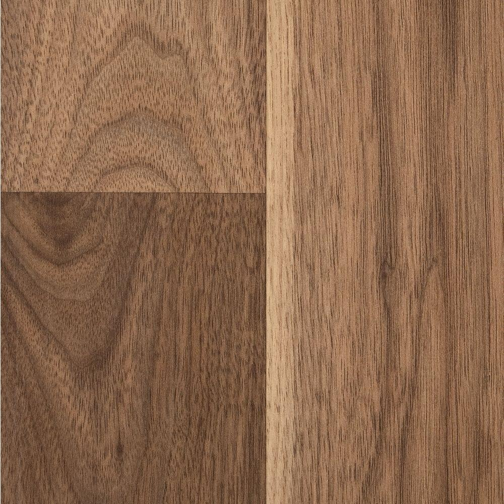 Home Legend Authentic Walnut 8mm Thick x 7-9/16 in. Wide x 50-5/8 in. Length Laminate Flooring (21.30 sq. ft./case)-DISCONTINUED