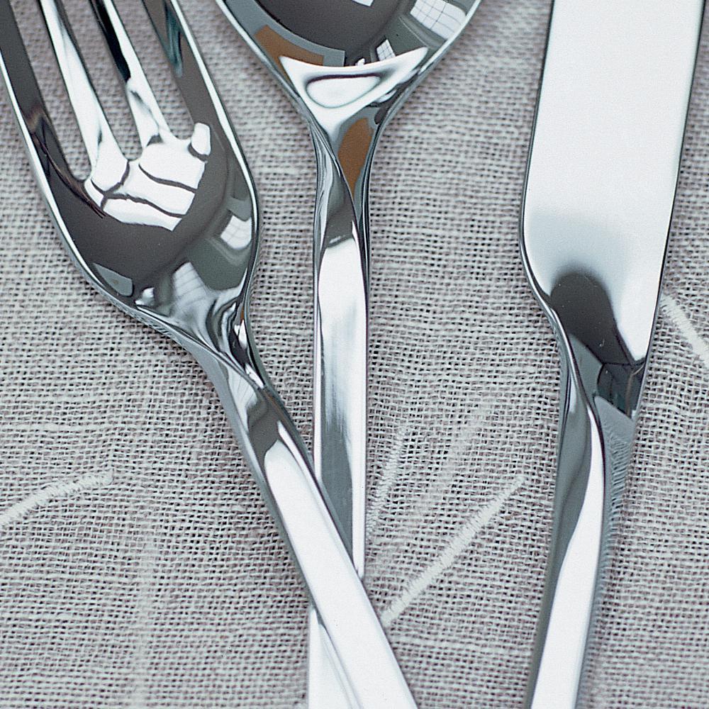 Villeroy & Boch NewWave 44-Piece 18/10 Stainless Steel Flatware Set