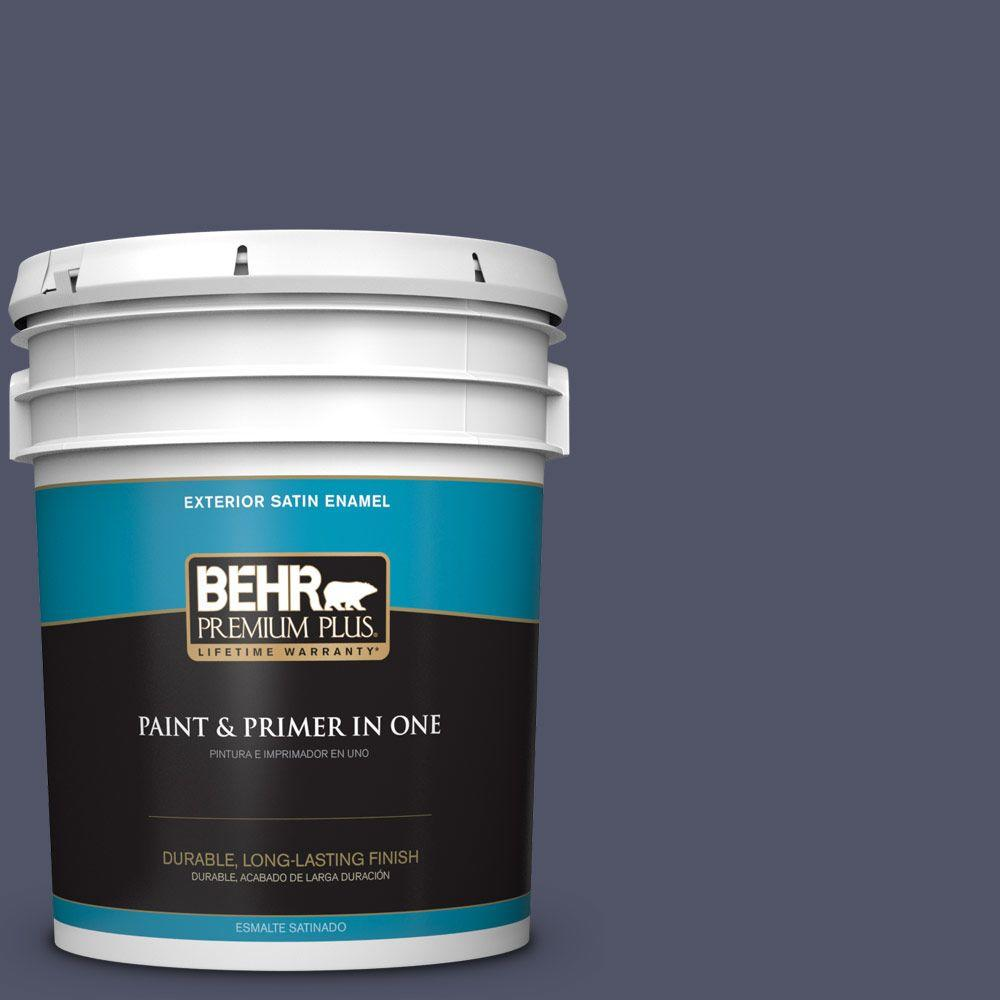 BEHR Premium Plus 5-gal. #S560-7 Lap of Luxury Satin Enamel Exterior Paint