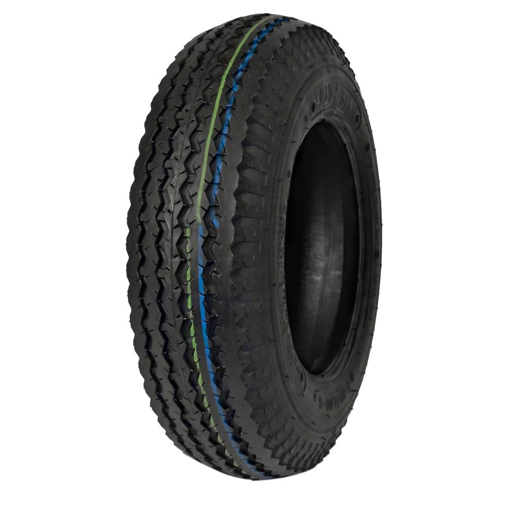 480/400-8 Trailer Tire Load Range B RV Camper Wheels Replacement Tires Rubber