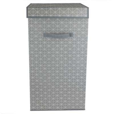 Diamond Collection Non-Woven Laundry Hamper