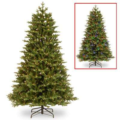 7-1/2 ft. Feel Real Brookfield Fir Hinged Tree with 800 Dual Color LED Lights and PowerConnect