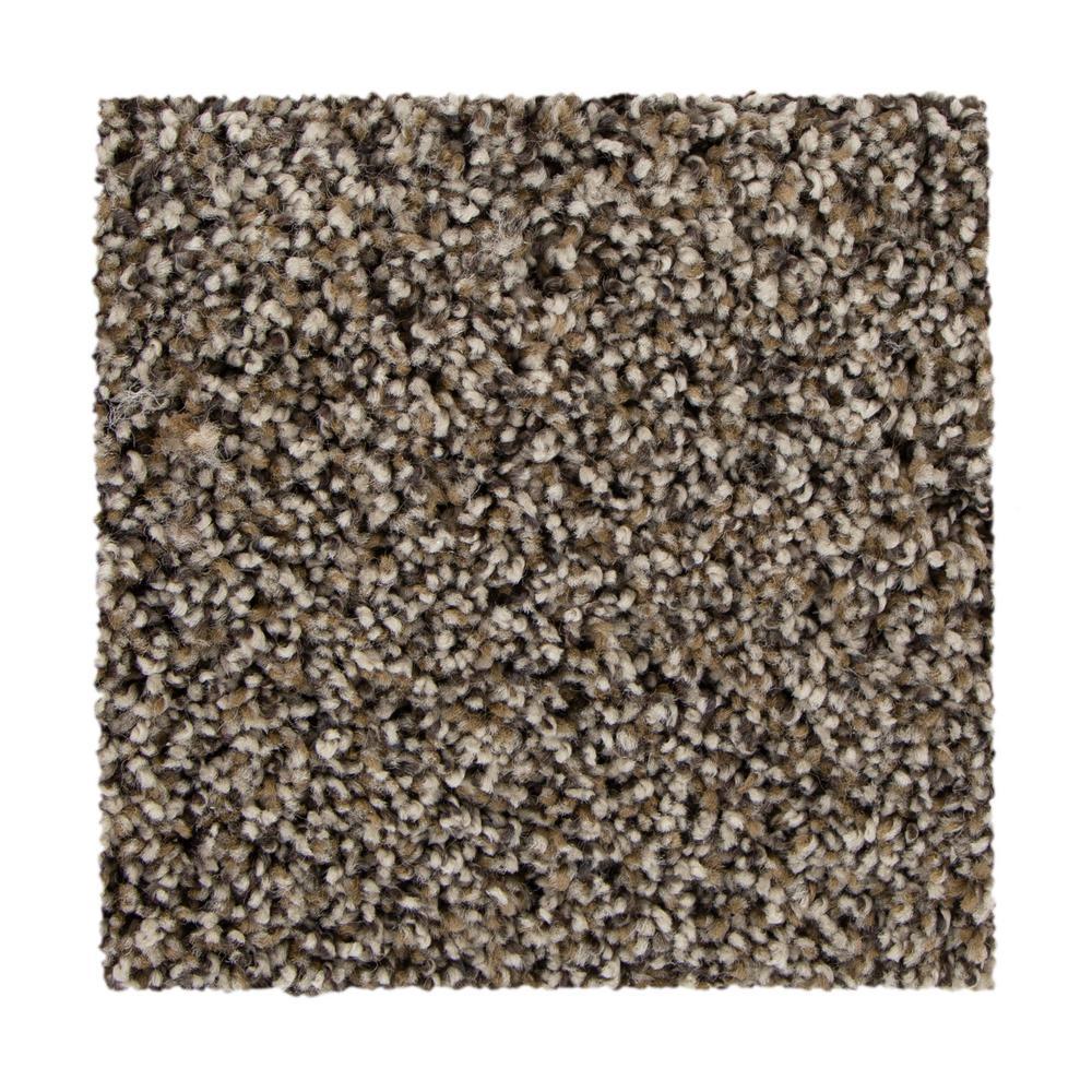 March Point - Color Rustic Charm Texture 12 ft. Carpet