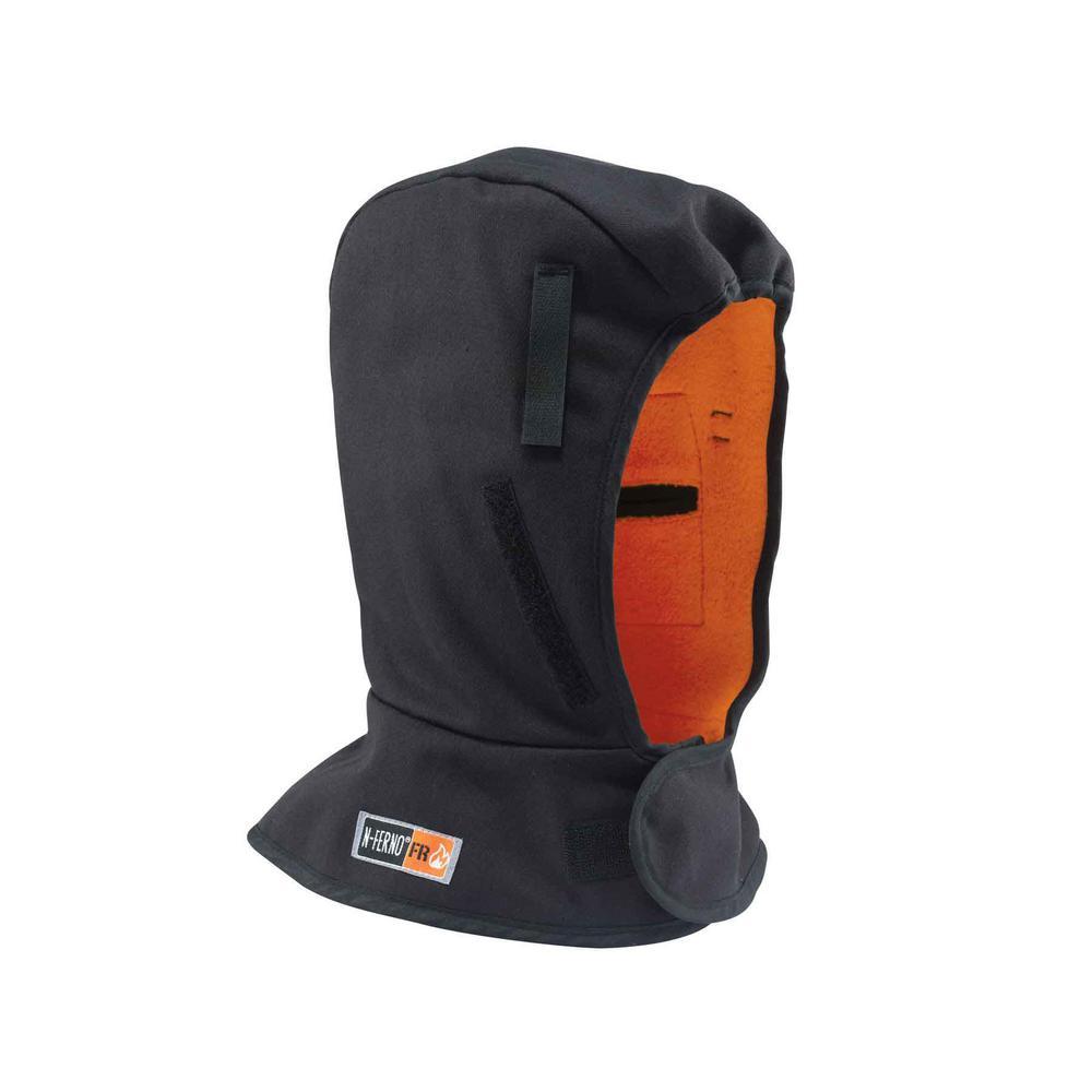 N-Ferno Shoulder Black 3-Layer FR Winter Hat Liner