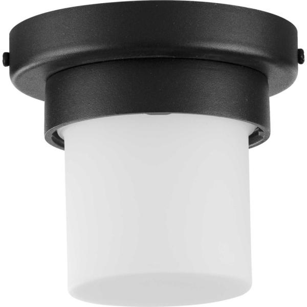 1-Light Z-1060 LED Black Outdoor Flush Mount