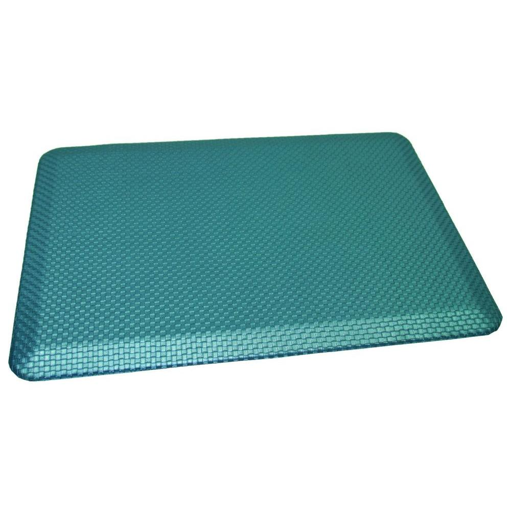 Rhino Anti Fatigue Mats Comfort Craft South Park Ocean 24 In. X 36 In.  Poly Urethane Blend Anti Fatigue Kitchen Mat CCPSPRKOCN2436   The Home Depot
