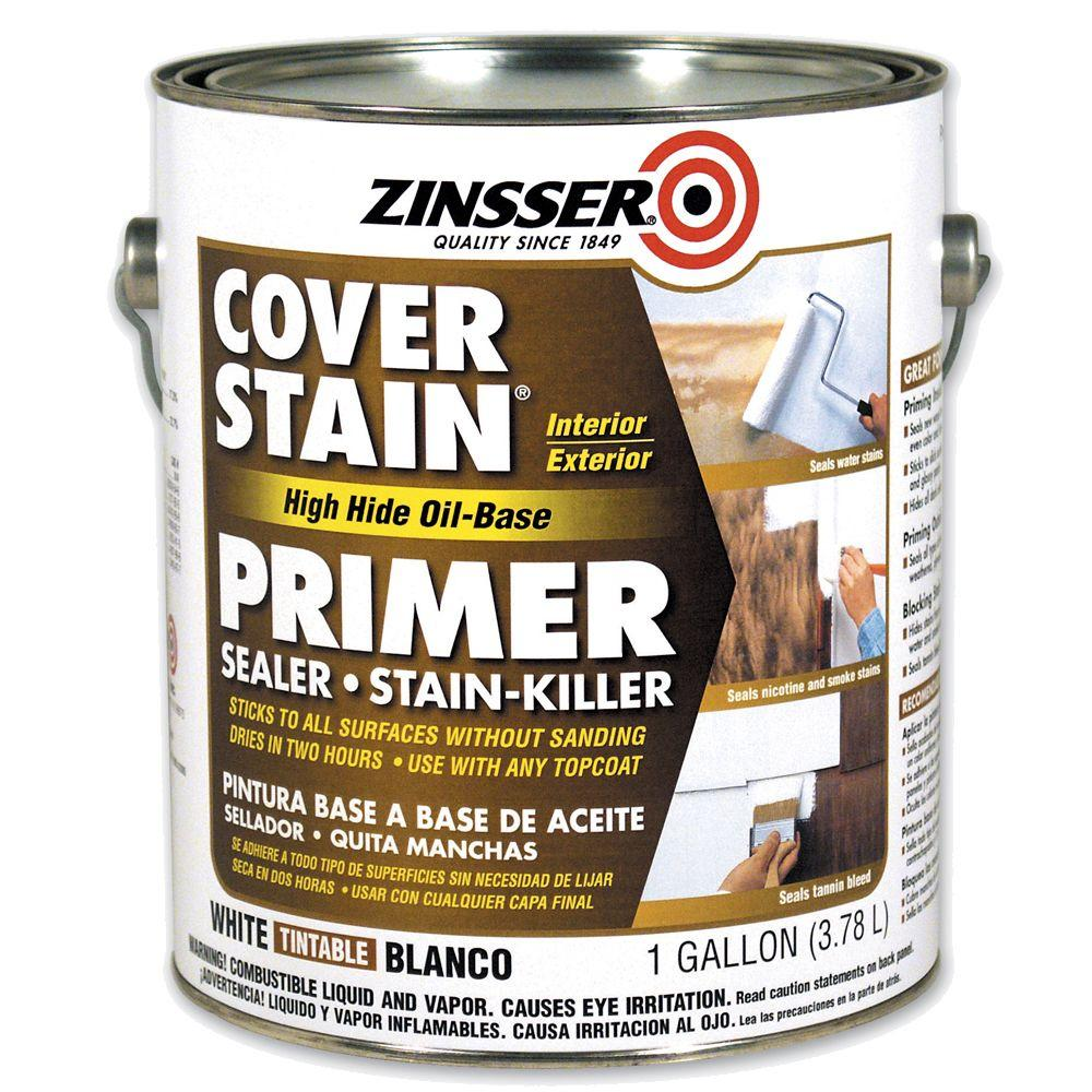 Zinsser 1-gal. Cover Stain High Hide Primer-DISCONTINUED