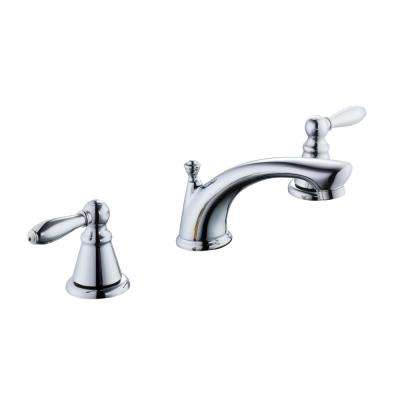 2500 Series 8 in. Widespread 2-Handle Bathroom Faucet in Chrome