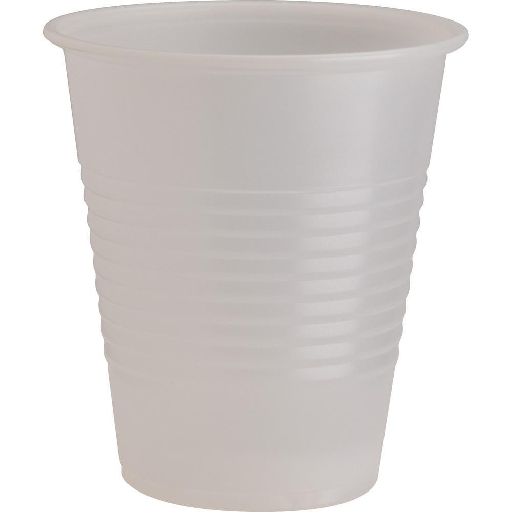12 oz. Translucent Plastic Beverage Cups (1000 Per Case)