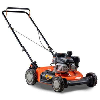 21 in. 132cc 2-in-1 Gas Walk Behind Push Mower