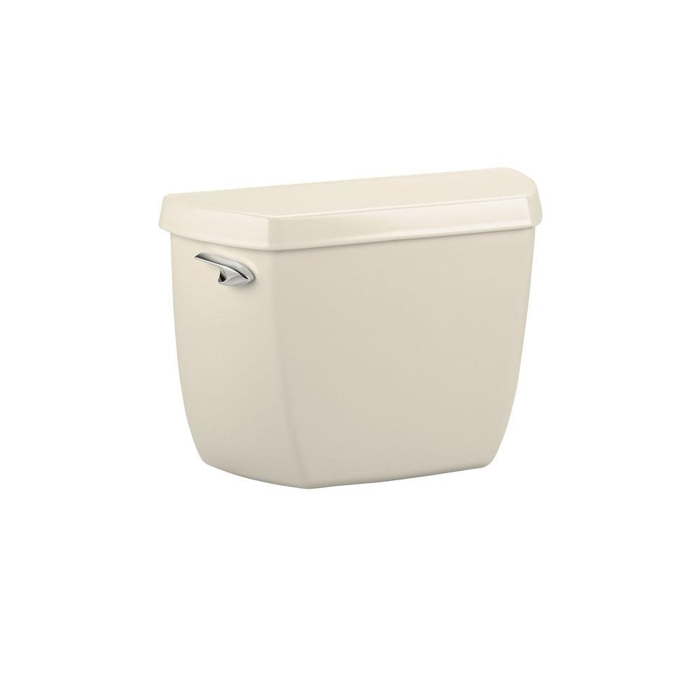KOHLER Wellworth Classic 1.6 GPF Toilet Tank only in Almond-DISCONTINUED