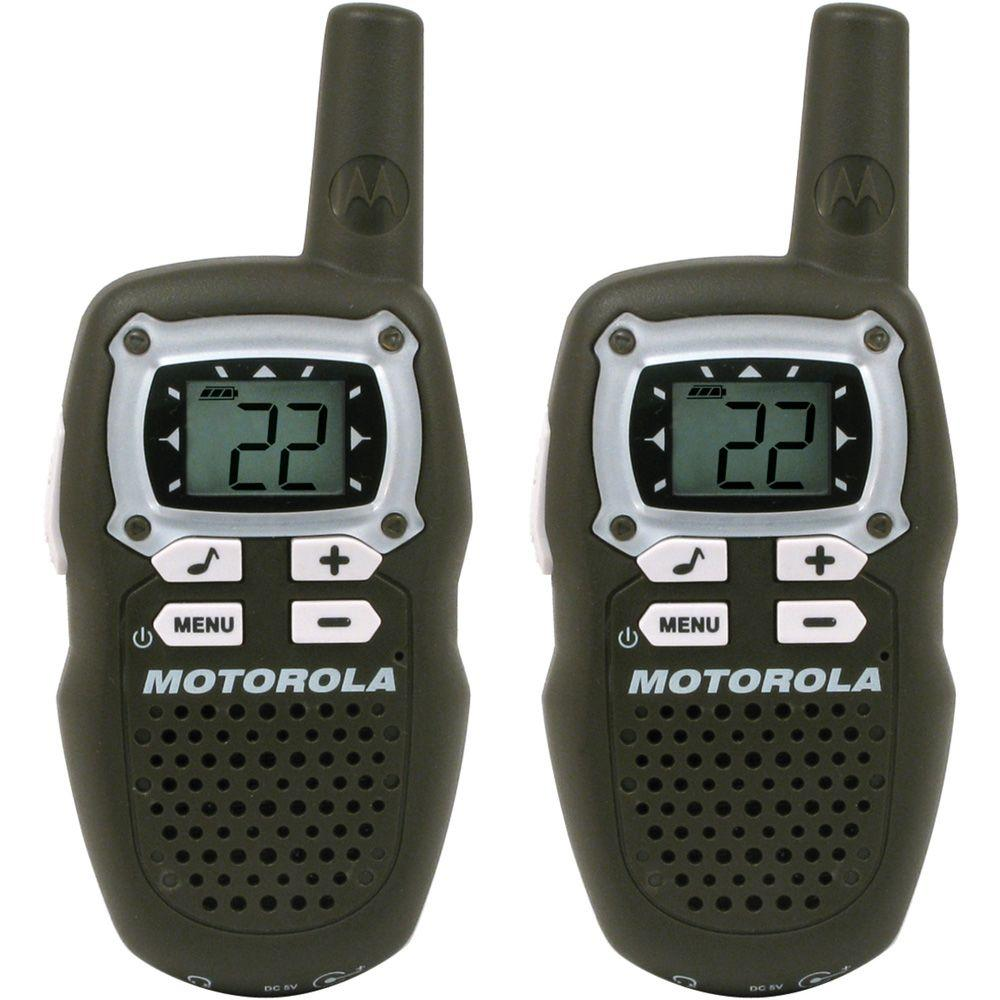 Motorola Talkabout Rechargeable Two-Way Radio Pair in Brown-DISCONTINUED