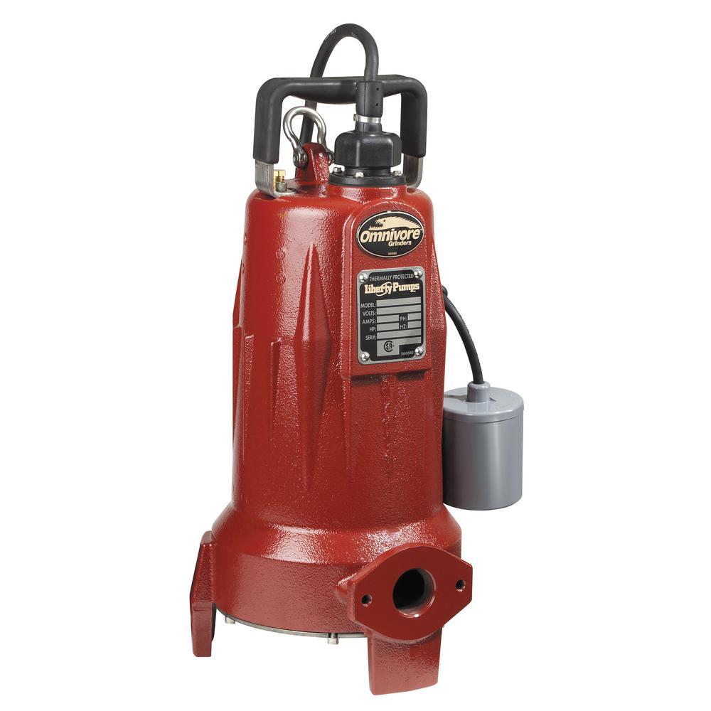 LSG-Series 2 HP Automatic Omnivore Grinder Sewage Pump