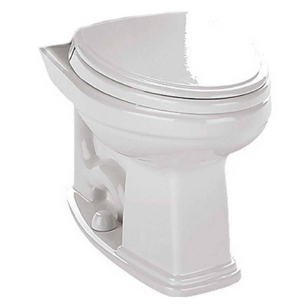 Promenade Elongated Toilet Bowl Only with CeFIONtect Glaze in Cotton White