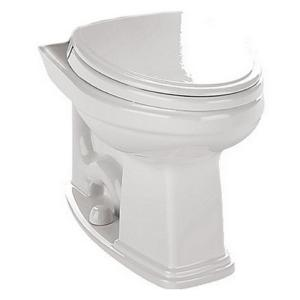 TOTO Promenade Elongated Toilet Bowl Only with CeFIONtect Glaze in Cotton White by TOTO
