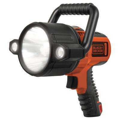 10-Watt LED Plus USB Lithium-Ion Rechargeable Spotlight