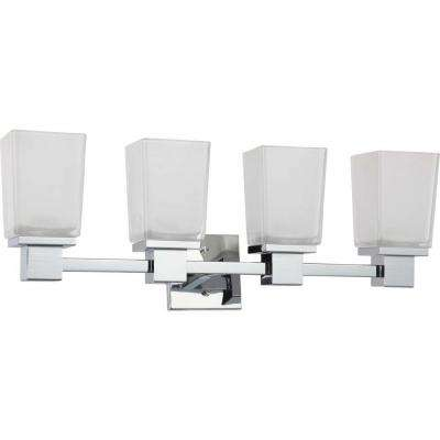 Belisana 4-Light Polished Chrome Bath Vanity Light