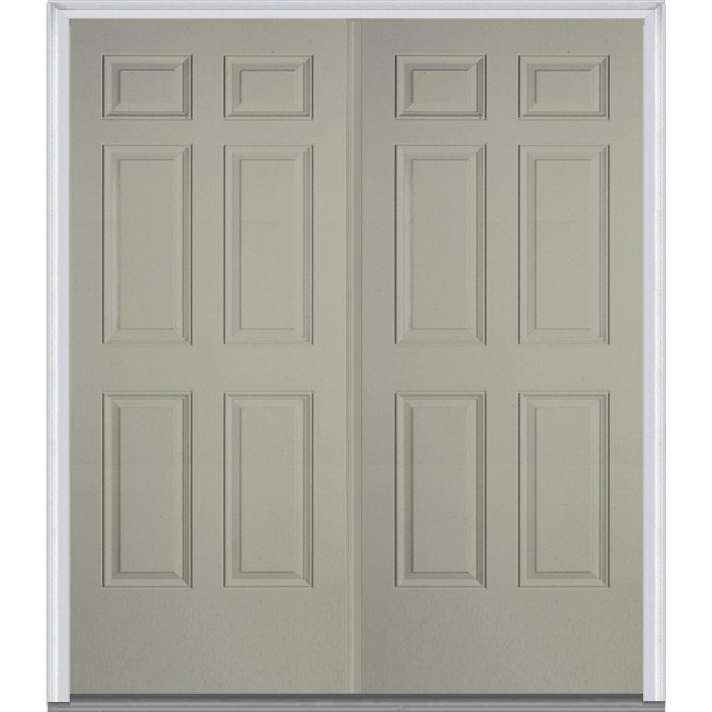 Gray - Double Door - Front Doors - Exterior Doors - The Home Depot