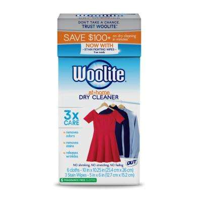 Woolite At Home Fragrance Free Dry Cleaner Dryer Sheets (6-Count)