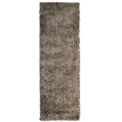 City Sheen Clay 2 ft. x 11 ft. Runner Rug