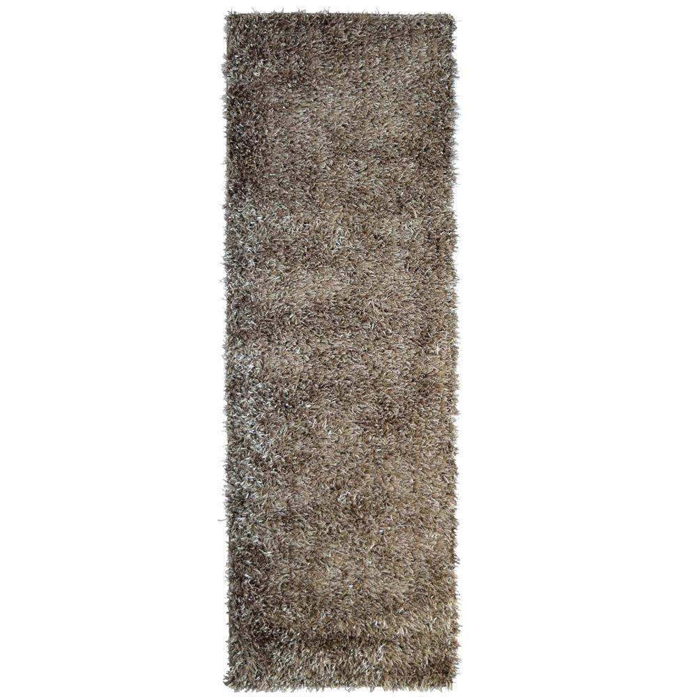 City Sheen Clay 4 ft. x 14 ft. Rug Runner