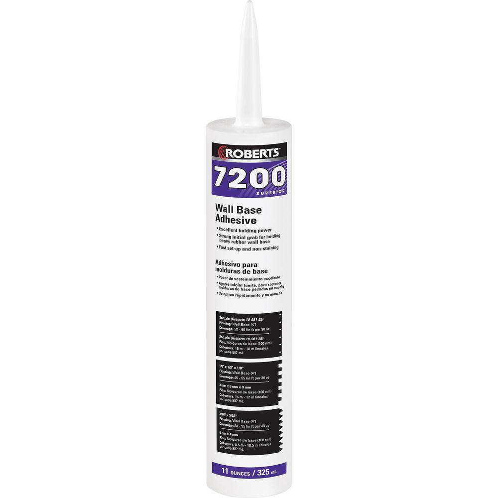 11 fl. oz. Wall and Cove Base Adhesive in Cartridge Tube