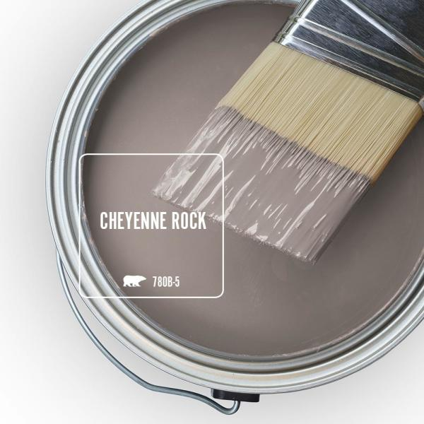 Reviews For Behr Ultra 1 Gal 780b 5 Cheyenne Rock Semi Gloss Enamel Exterior Paint And Primer In One 585401 The Home Depot