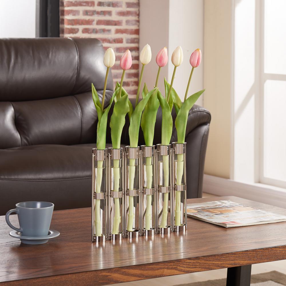 Danya b 9 in iron and glass test tube decorative hinged vases on iron and glass test tube decorative hinged vases on rings stands reviewsmspy