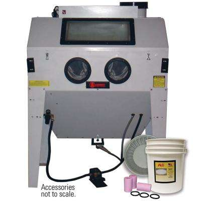 Triple Door Abrasive Blaster Cabinet with Starter Kit