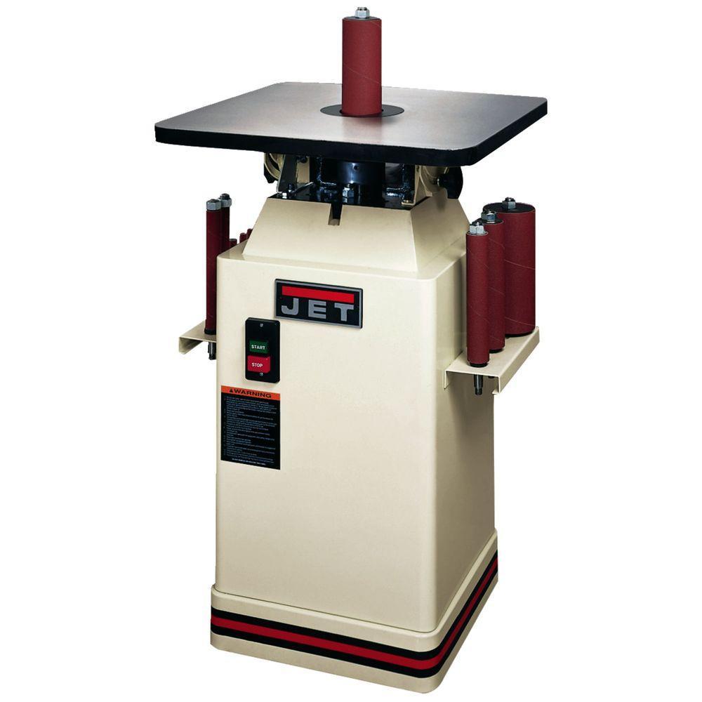 JET 115-Volt 1 HP Floor Oscillating Spindle Sander