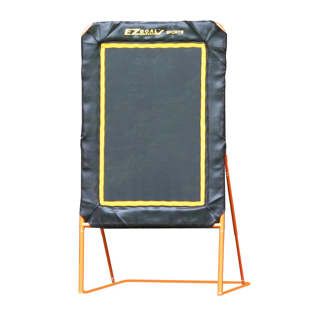 Professional Folding Lacrosse Throwback Rebounder with 6 ft. x 4 ft.